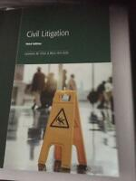 Civil Litigation - for Centennial College Law Clerk Program