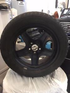 4 Arctic Claw Winter Txi M+S Tires w/Steel Wheels - 215/55/R17