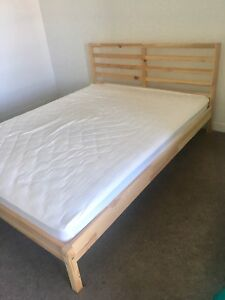 bed frame and mattress almost new - Tarva Bed Frame Review