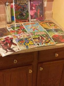 10 comics for $50 - Deadpool, Spider-man,etc