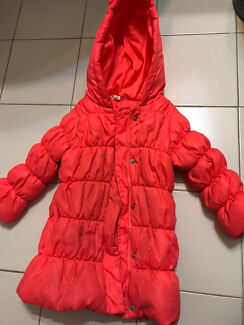 Kids warm winter jacket size 2-3 years