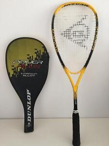 Two Excellent Beginner Squash Racquets