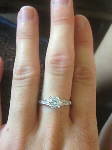 Promise Ring - 925 silver with cubic zirconia