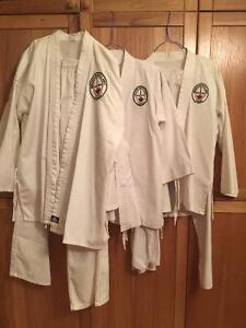 Unisex karate gi x3 for sale
