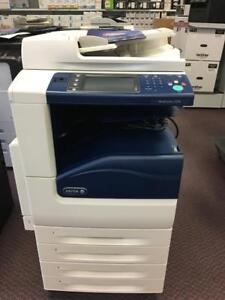 Xerox WC 7220i WorkCentre 7220 Color Multifunction Printer Copier Scanner Fax 11x17 REPOSSESSED Only 235 Pages Printed