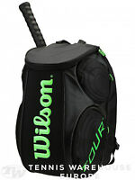NEW Wilson Tour 2.0 Large tennis Backpack green black
