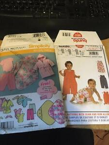 Sewing patterns for baby clothes
