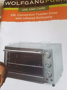Wolfgang puck toaster oven