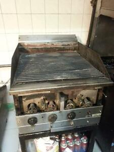 Commercial/ restaurant gas stove and griller