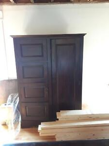 Solid Teak Indonesian Wardrobe!!!! Make an offer!
