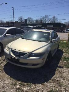 Running 2004 Mazda 6 ***Parting Out***