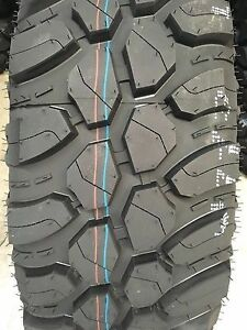 FOUR NEW MUD TIRES, LT37x12.50R20 1299.45 TAX IN