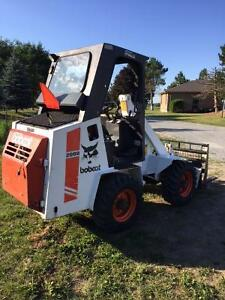 Bobcat articulate loader