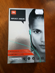 JBL Active Noise Cancelling Sport Headphones (iOS port only) Coburg Moreland Area Preview