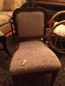 $55 each antique chair Windsor Region Ontario image 2