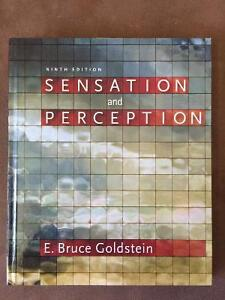 Sensation and Perception, 9th Edition WITH Coursemate Peterborough Peterborough Area image 1