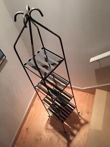 Iron Rod Plant Shelf (or for other thingd)
