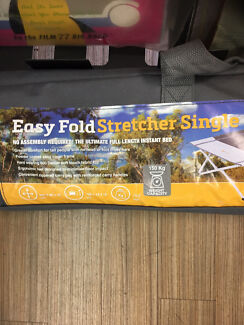EASY FOLD STRETCHER BED SINGLE