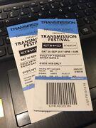 Transmission Vip Ticket Docklands Melbourne City Preview