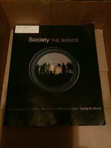 Society the basics. Fifth Canadian edition