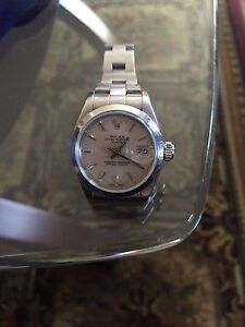 Rolex Ladies Oyster Perpetual Date Just 79160