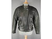 Leather Biker Jacket - AKITO Mercury Plus