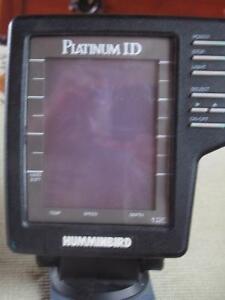 Fishfinder - Humminbird Platinum ID 120