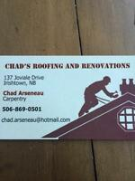 CHAD'S ROOFING AND RENOVATION