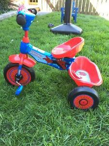 Spider-Man Toddler bicycle Kitchener / Waterloo Kitchener Area image 3