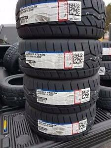 205/50R15 falken 615k Falken Azenis brand new $540 for all 4 civic eg chump car
