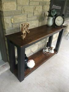 Rustic Country Chic Sofa Table Belleville Belleville Area image 7