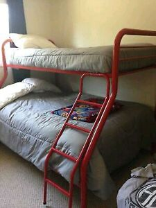Bunk bed  single on top. Double on bottom