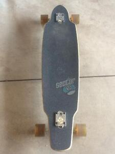 2 sector 9 longboards nearly new (1 bamboo wood)