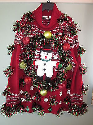 A sweater only your Aunt Edna could love.