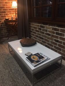 White Coffee Table Brownlow Hill Wollondilly Area Preview