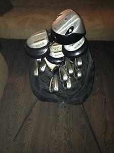 Spalding Tour Advance left handed clubs. Peterborough Peterborough Area image 1