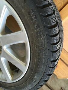 Buy 3 Get One Free! 4 Winter Tires on Winter Alloy Rims Cambridge Kitchener Area image 2