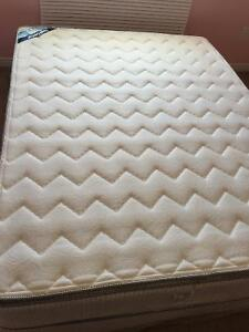 Royal Comfort Pillowtop Mattress Set - Queen (Used for 11 mths)