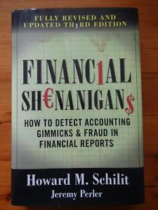 TEXTBOOK - Financial Shenanigans - ONLY $20!