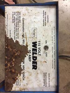 Great working older stick welder 115Volt 50 AMP