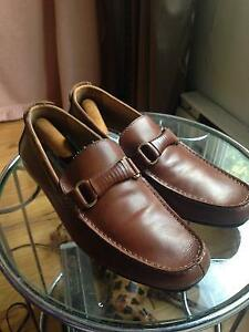 Steve Madden leather cuire chaussure loafers shoes steve madden