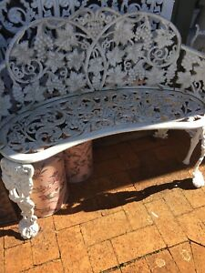 CAST IRON, WROUGHT IRON OUTDOOR FURNITURE. Wongawallan Gold Coast North Preview