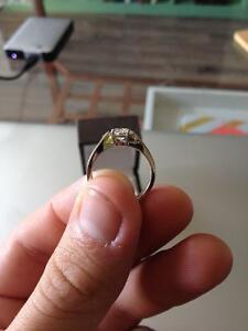Diamond Engagement Ring Cambridge Kitchener Area image 6