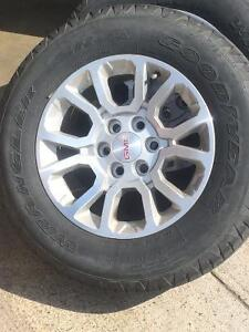2014 sierra rims and tires