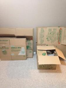 free boxes and moving supplies