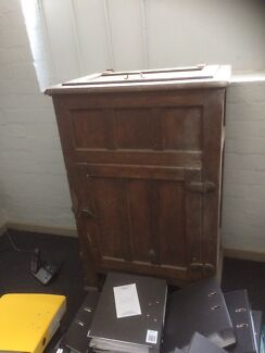 Old ice chest
