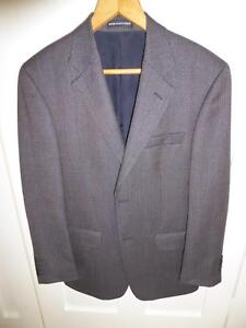 Men's 100% Italian Wool Jacket Size 96 REG Abbotsford Canada Bay Area Preview