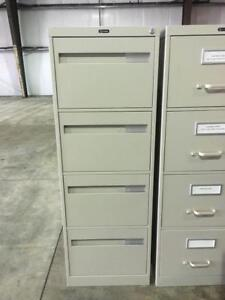 4 Drawer Vertical Filing Cabinets - $125