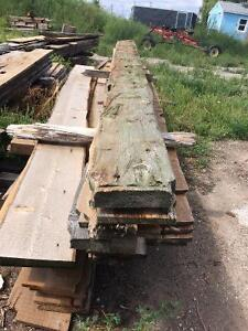 "Hand hewn Beam slabs...2"" to 6"" thick"