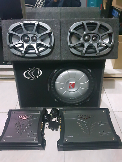 Kicker Car Audio System $600